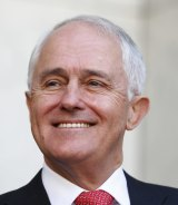 """Prime Minister Malcolm Turnbull went on a media blitz to herald the resounding """"yes"""" vote."""