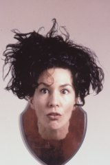 A publicity shot for 'Flanosserus' in the Melbourne International Comedy Festival in 1995.