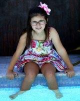 Cancer survivor Maria Psaradellis, 9, of Sydney.