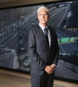 Transurban's Scott Charlton says the current method of raising funds for transport was both unsustainable and unfair.