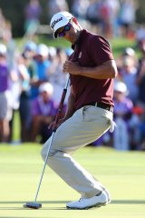 """""""I didn't hit it close enough to the hole"""": Adam Scott."""