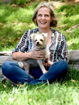 Lucy Turnbull and her dog Jo Jo.