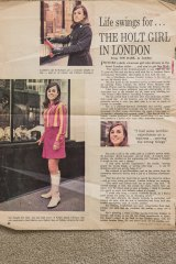 A profile of Harold Holt's niece, Sue, in Woman's Day magazine.