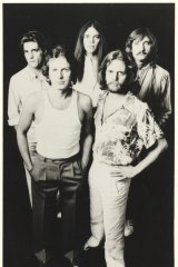 The Eagles: from left, Glen Frey, Don Henley, Timothy Schmit, Don Felder and Joe Walsh in a 1980 publicity shot.
