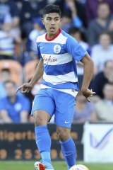 Luongo in action for QPR.
