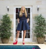 Collette Dinnigan shut her own boutiques in 2013.