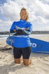 Lets Go Surfing surf school director Brenda Miley.