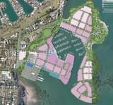 A new $1.3 billion harbour at Cleveland has been delayed for additional conservation information