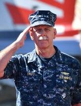 Commander of the Pacific Fleet, Admiral Scott Swift.