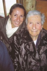 Gabrielle Costa, left,  and her grandmother Maria Stella Costa in 2009.