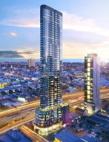 The proposed development at 42 Moray Street in Southbank.