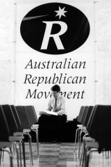 Mr Turnbull during his republican campaign days in 1994.