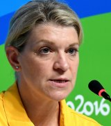 Australian Olympic Team chef de mission Kitty Chiller.