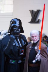 Sith Lords Darth Vader and Count Dooku were also in attendance.