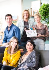 Asher Keddie leads the cast of series six of <i>Offspring</i>.