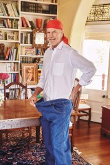 Peter Fitzsimons has lost a third of his body weight.