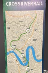 The latest version of Cross River Rail will run from Boggo Road to the Ekka grounds at Bowen Hills.