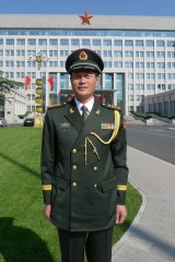 """Senior Colonel Liu Mingfu: one of the most vocal proponents of """"peace disease""""."""