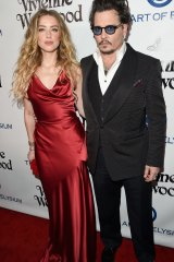 Amber Heard filed for divorce from Johnny Depp three days after his mother died.