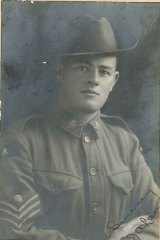 David Laird's grandfather Fred Laird, who served in WWI with the 7th battalion at Gallipoli and on the Western Front.