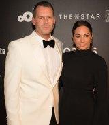 Seven presenter Tom Williams and his designer wife, Rachel Gilbert.