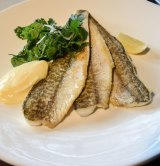 Grilled king george whiting at Rockpool