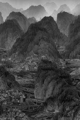 Yang Yongliang's <i>Landscape</i>.