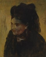 Portrait of a Woman by Edgar Degas.