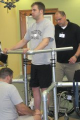 In 2011, quadriplegic Rob Summers was the first to regain sensation and limb control at the UCLA centre run by Reggie Edgerton.