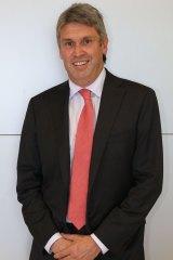 Happy days: Channel Nine CEO David Gyngell.