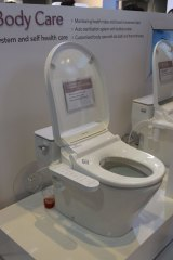Body Care's self-cleaning smart toilet.