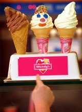 Wendy's won't be straying from its core product range of ice-creams and hot-dogs.