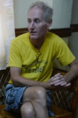 Peter Scully interviewed inside the warden's office at Cagayan de Oro Jail.