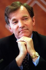 Former ASIC chief Alan Cameron.