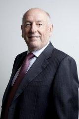 Unhappy: Geelong president Colin Carter.