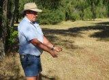 Golden touch: Prolific WA water diviner Rod Sutton.