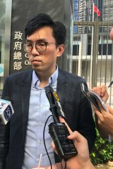 Avery Ng Man Yuen, former Melbourne university student and democracy protester.