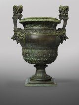 Vase with boars and Janus heads, 1665.
