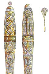 The Artistry pen exists only as a sketch but would cost $1.6 million if made.