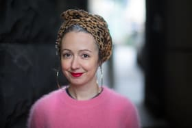 The Age, News.Marieke Hardy, artistic director of the Melbourne Writers Festival for the announcement of the line-up for this year's MWF. Pic Simon Schluter 16 July 2018.