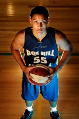 Hoop ace: Ben Simmons has starred in US high school play.