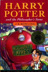 The book that started it all, Harry Potter and the The Philosopher's Stone.