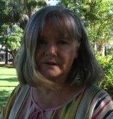 Donna Phillips, former waitress at Brisbane's Whiskey Au Go Go nightclub.