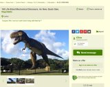 An ad for Clive Palmer's dinosaurs on Gumtree