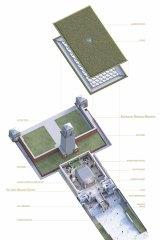 Plans for the Sir John Monash Centre.