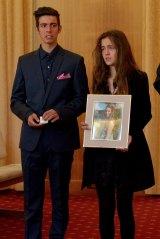 Masa Vukotic's brother Petar and sister Nadja.
