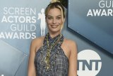 Margot Robbie arrives at the 26th annual Screen Actors Guild Awards.