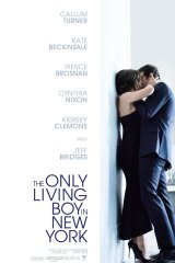Poster for the film The Only Living Boy in New York.