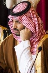 Saudi Deputy Crown Prince Mohammed bin Salman bin Abdulaziz, in Paris last year.