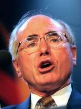 Prime Minister John Howard suffered a popularity slump during his first term